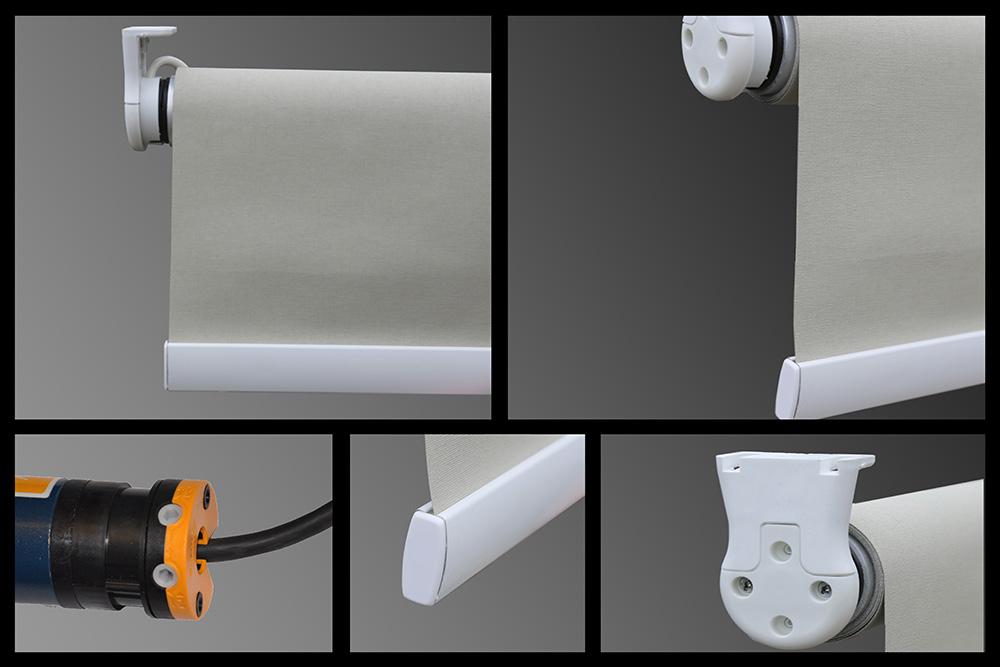 Жалюзи рулонные с электроприводом на пластиковые окна